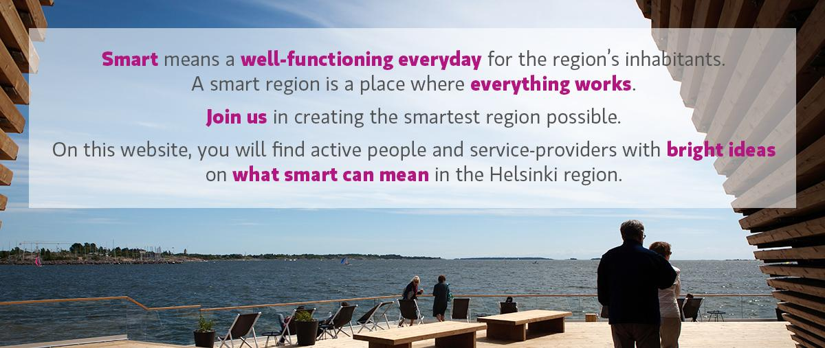 Helsinki Smart Region, Smart City, RIS3 Helsinki, Smart Region