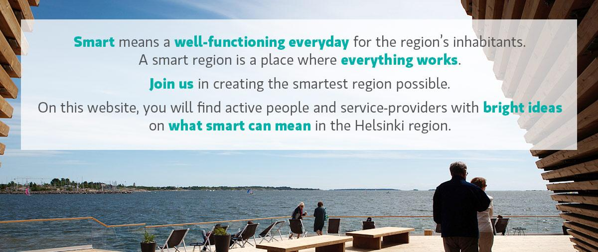 Helsinki Smart Region - place where everything works